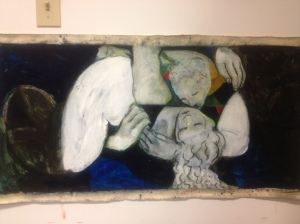 """Lovers,"" a work in progress by David Robinson"
