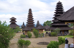 Pura Besakih, the highest temple on Gunung Agung