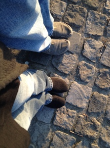 From Kerri and my travels: a photo essay about what our feet have seen