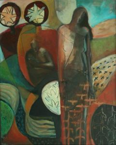 """from the archives. I call this painting """"Demeter."""""""