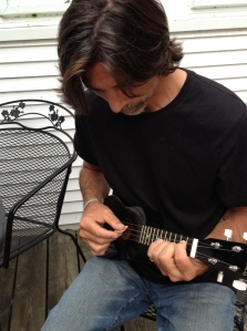 I have no idea how, but I'm making a mess of sound and will one day play the ukulele.