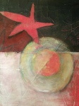 A detail from my painting, An Instrument of Peace