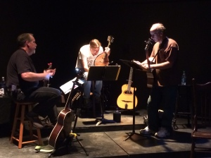 The Chili Boys in rehearsal