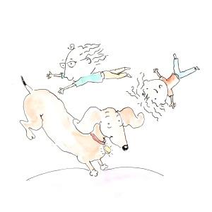 an illustration from Beaky's book, SHAYNE.