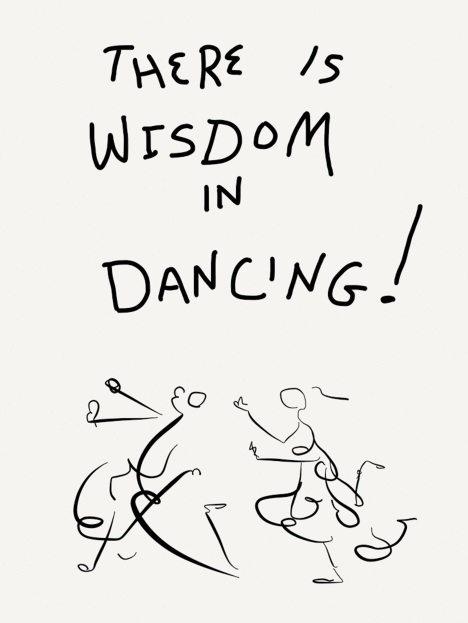 There is wisdom in dancing