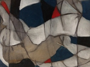 a detail of an unnamed painting