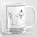 Flawed Snowman MUG