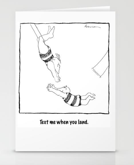 Acrobats card copy