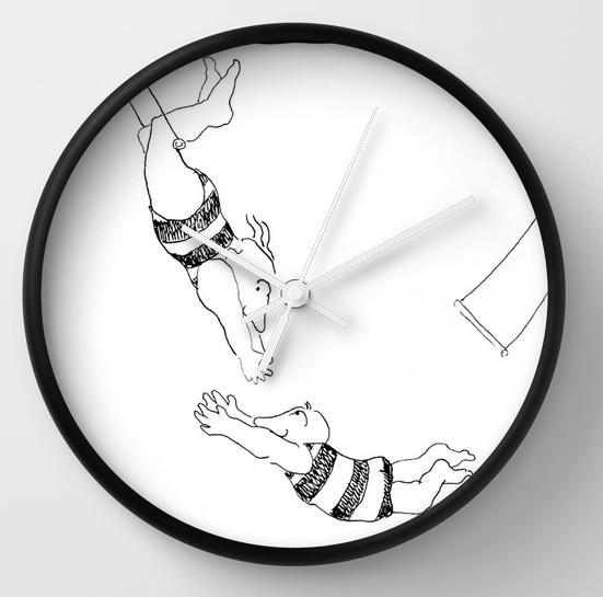 acrobats clock copy