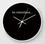 BeRelentless clock copy