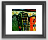 cityscape FRAMED ART PRINT copy