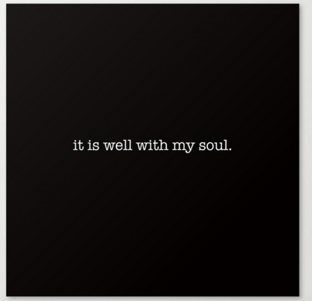 it is well with my soul CANVAS copy