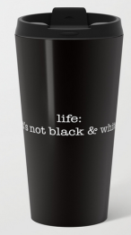 it's not b:w metal travel mug copy