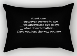 NeverSeeEyeToEye Rect pillow copy