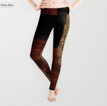 quarter earth LEGGINGS copy