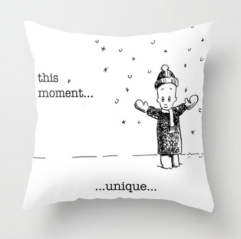 ThisMomentUnique pillow