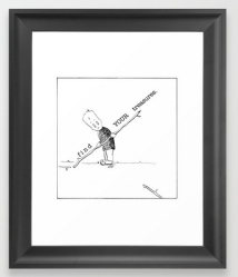 find your treasures FRAMED ART PRINT copy