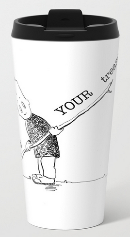 find your treasures mETAL TRAVEL MUG copy