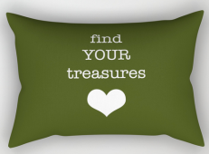 find your treasures rect pillow copy