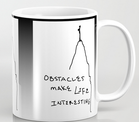 obstacles MUG copy
