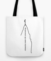 obstacles TOTE BAG copy
