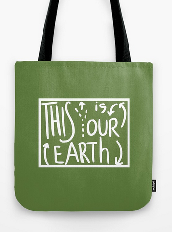 our earth TOTE BAG copy