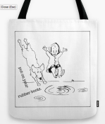 puddles CHICKEN TOTE BAG copy