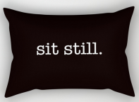 sit still RECT PILLOW copy