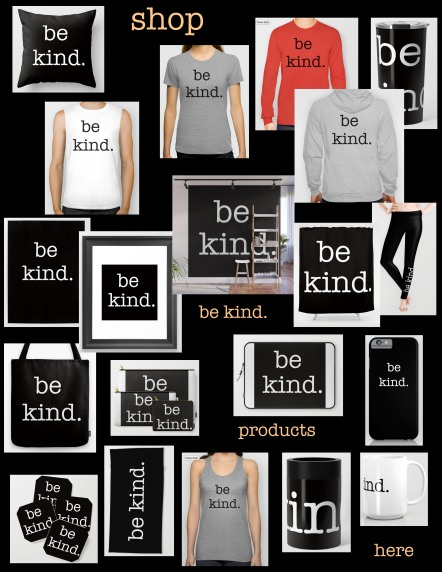 be kind collage with color font copy 2