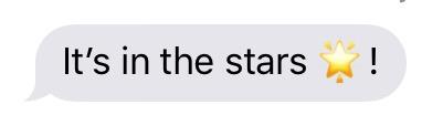 it's in the stars copy