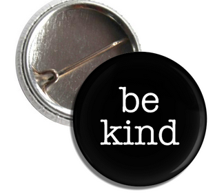 be kind button copy