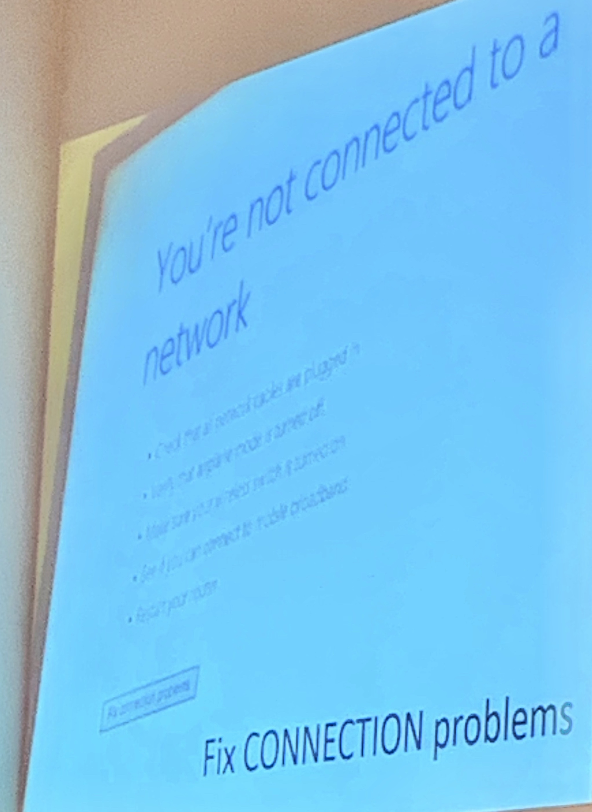 network connections copy