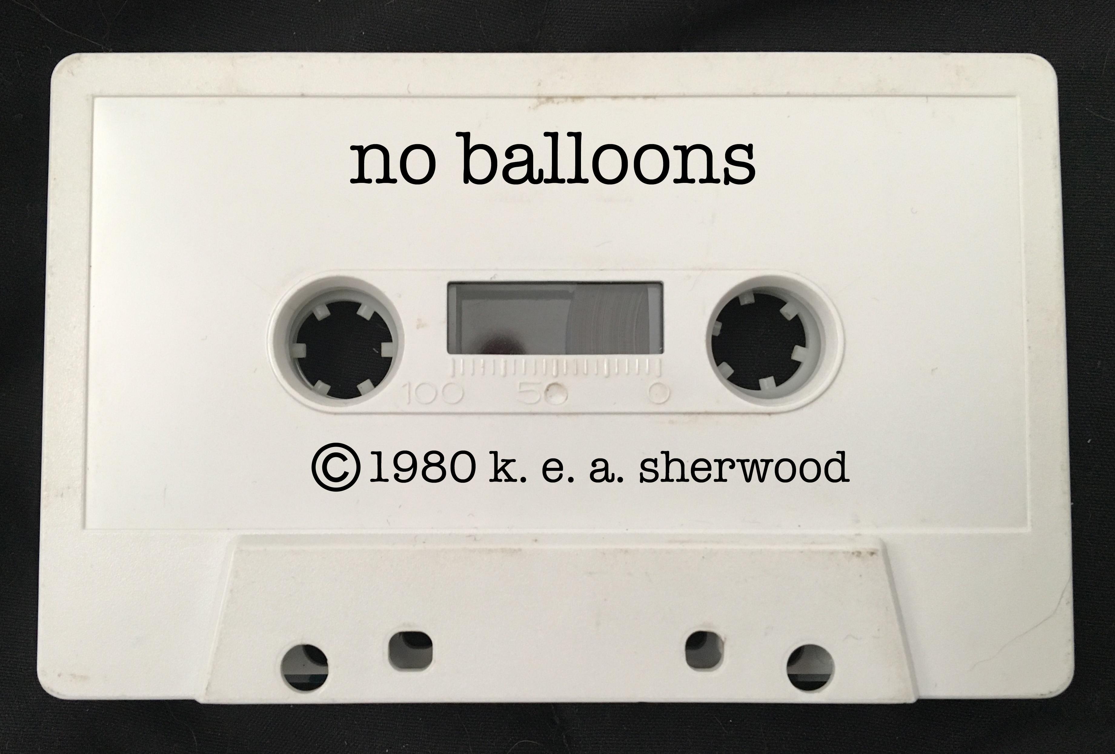 no balloons copy