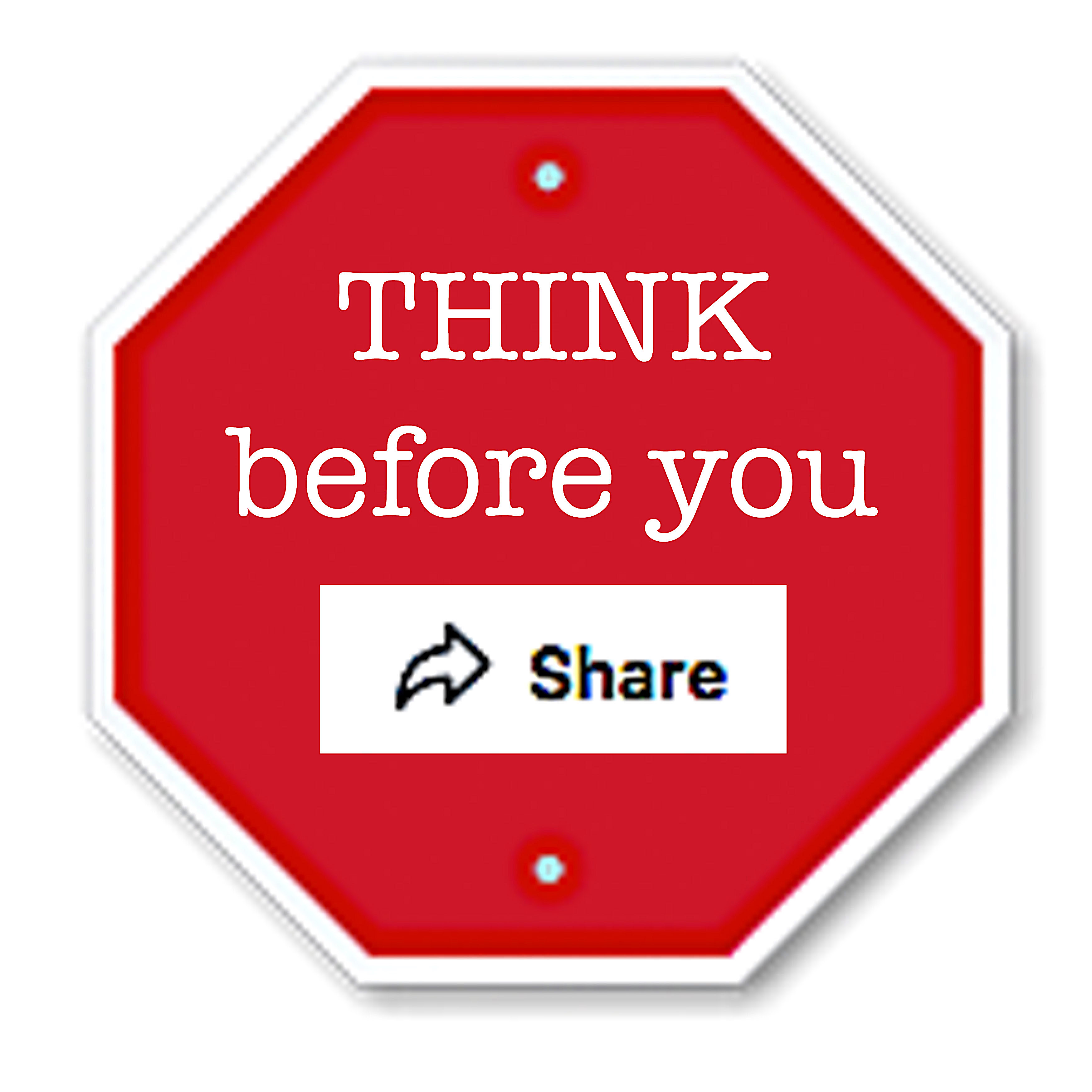 think before you share copy
