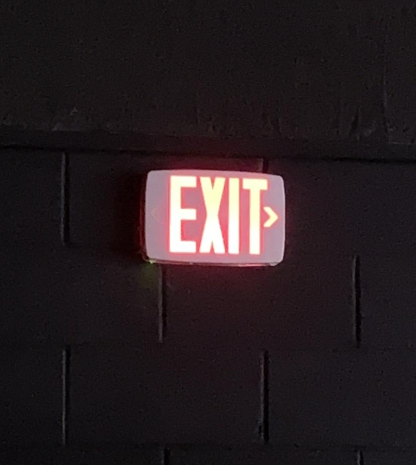 exit copy