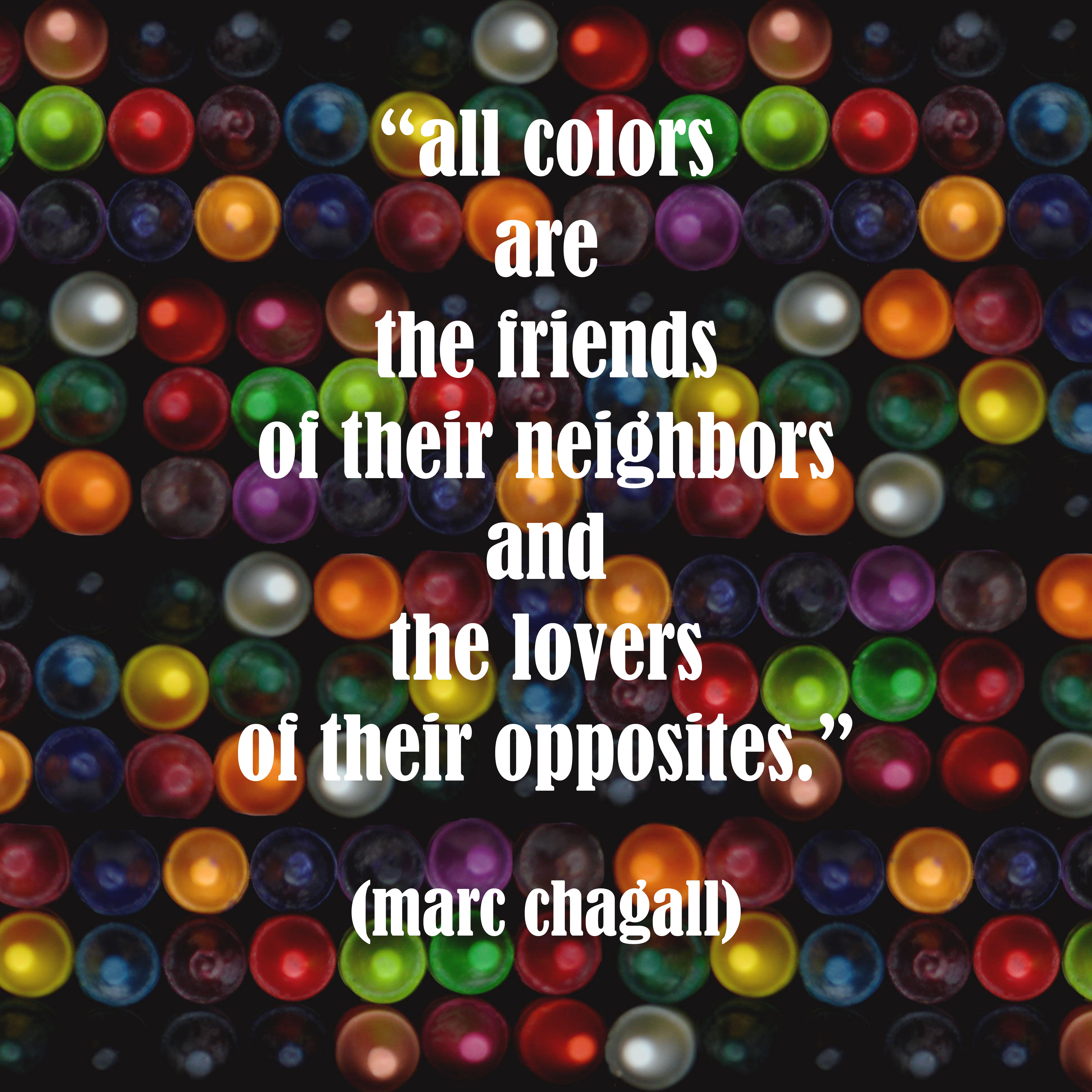 marc chagall quote copy