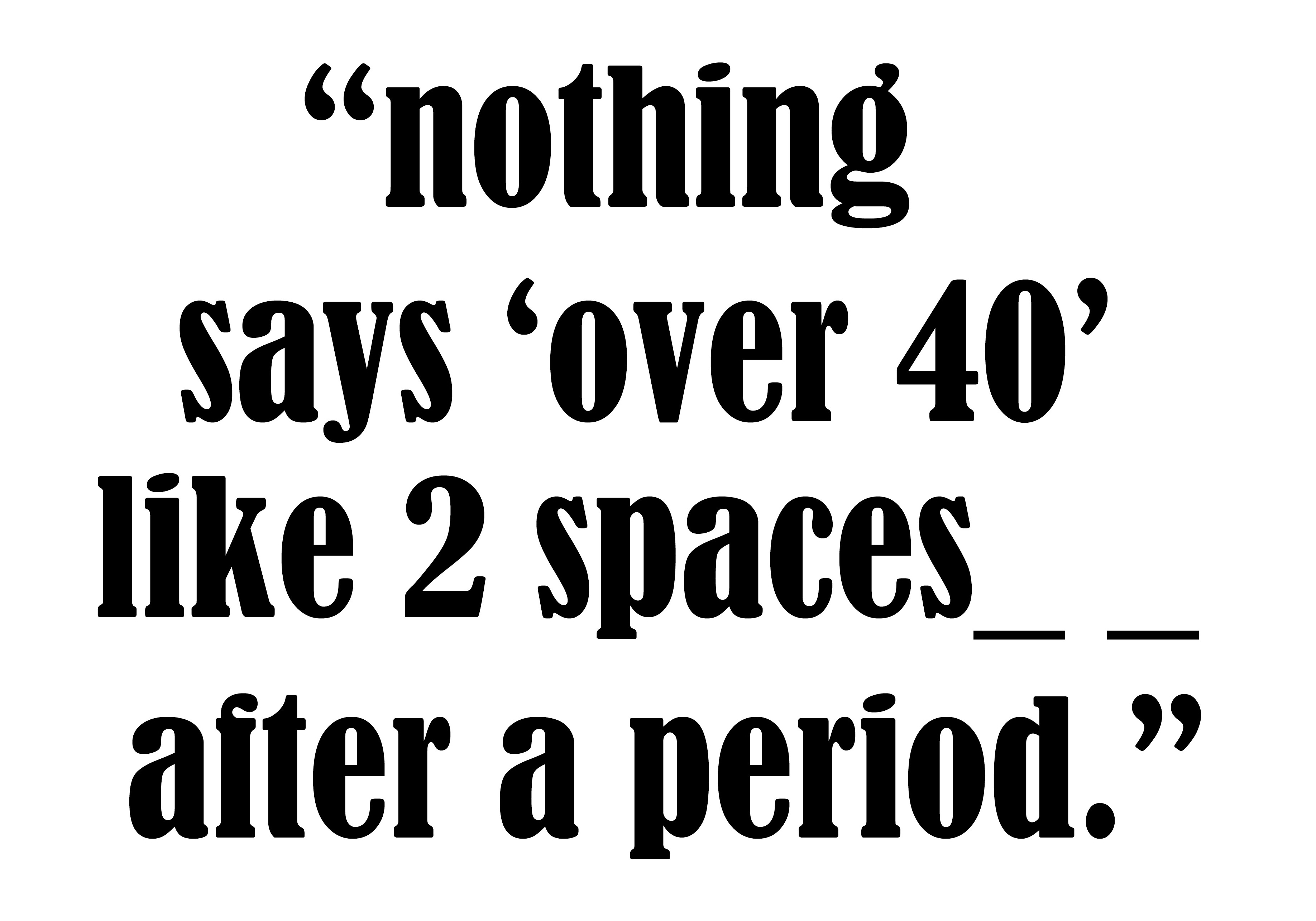 2 spaces copy