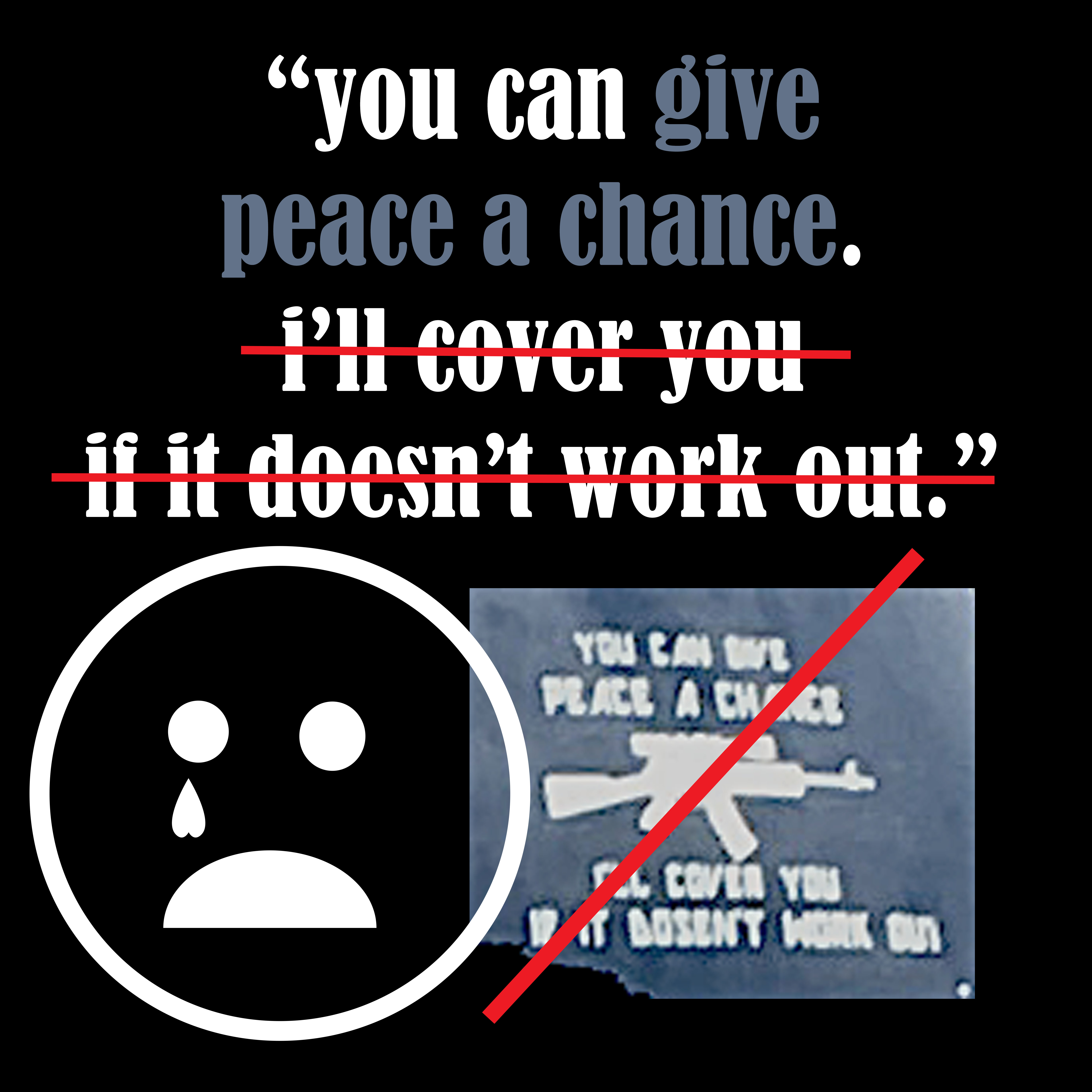 give peace a chance copy