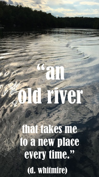 an old river copy