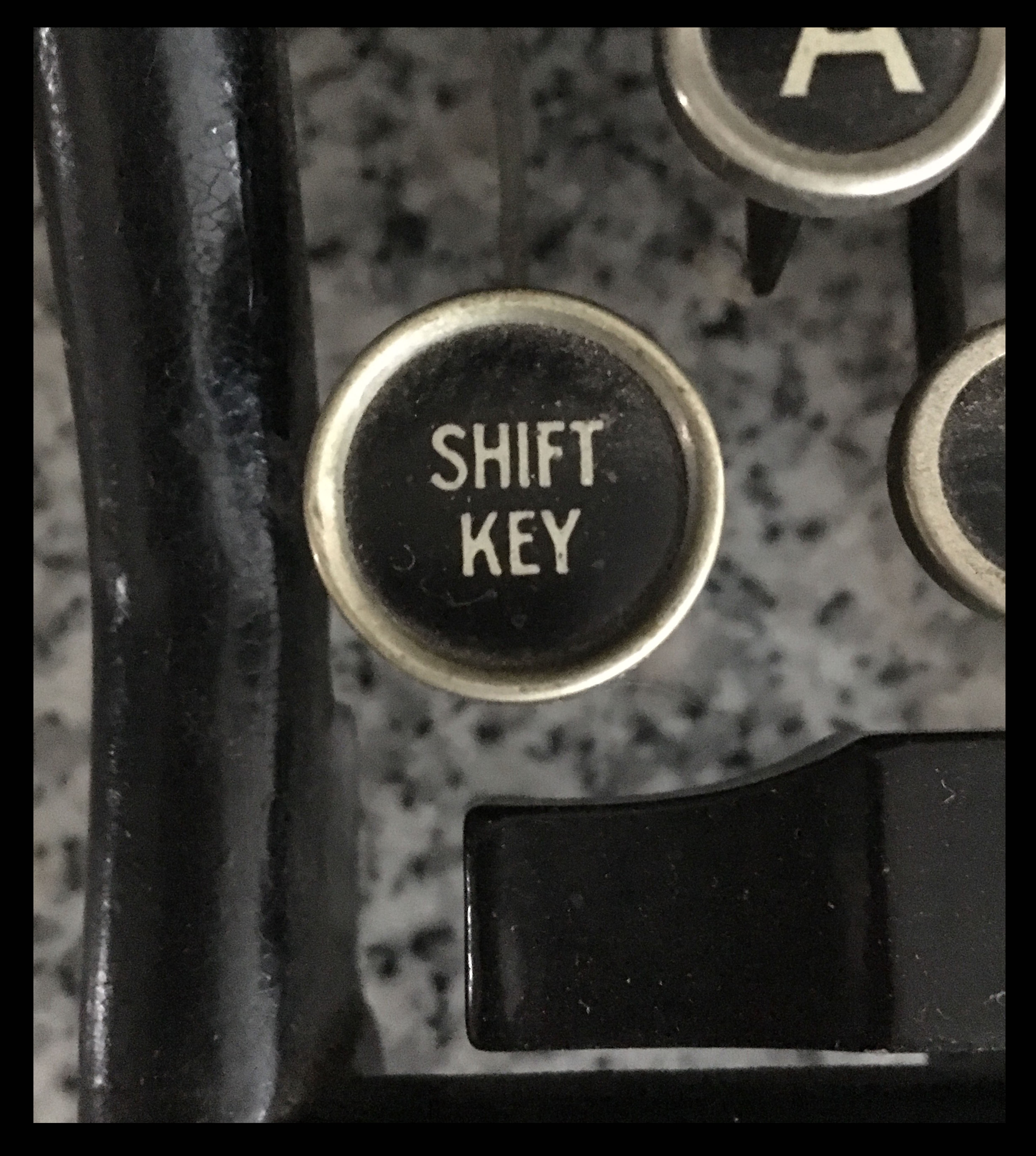 shift key framed copy